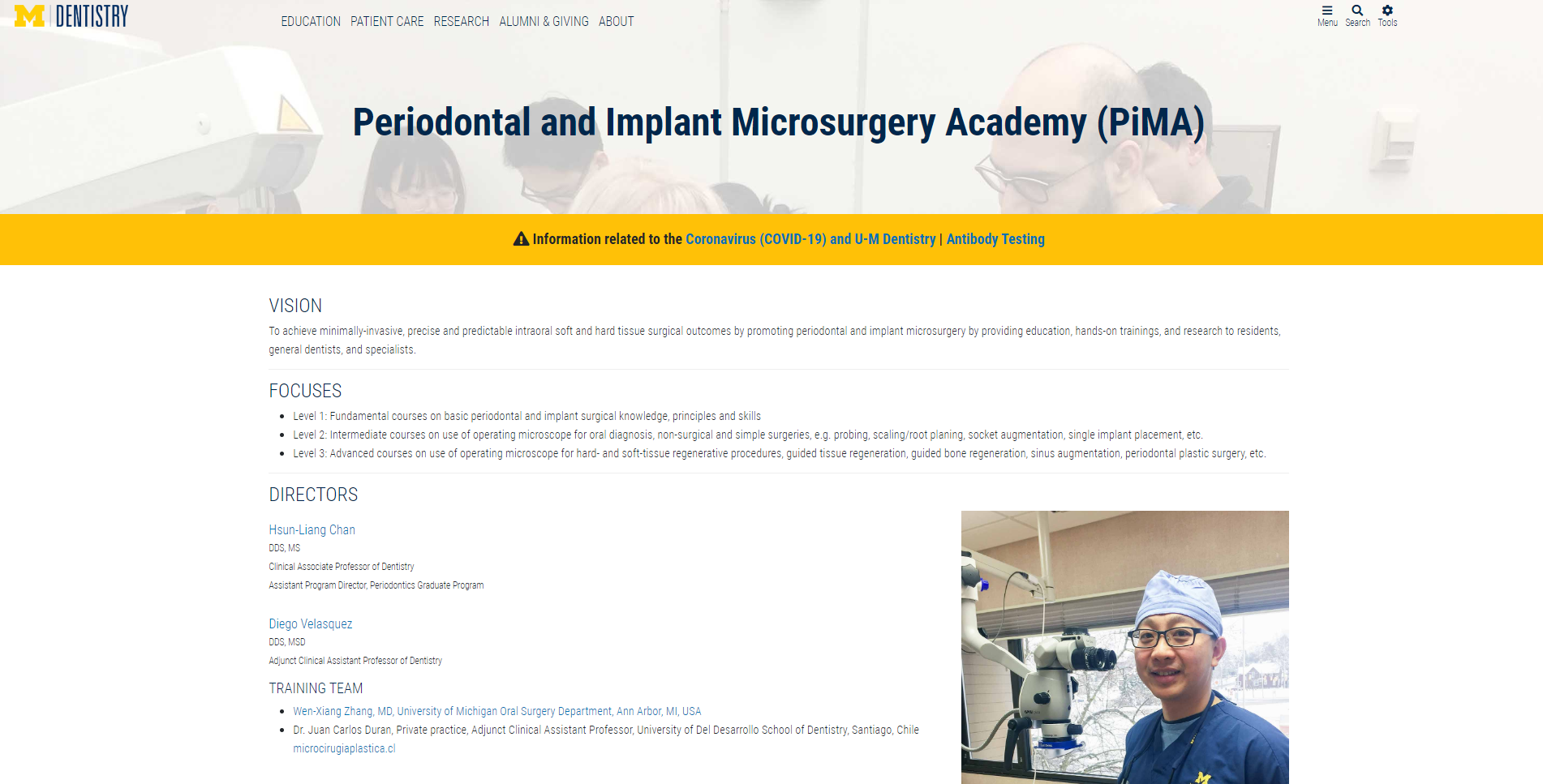 Microsurgery-Academy-Michigan-University